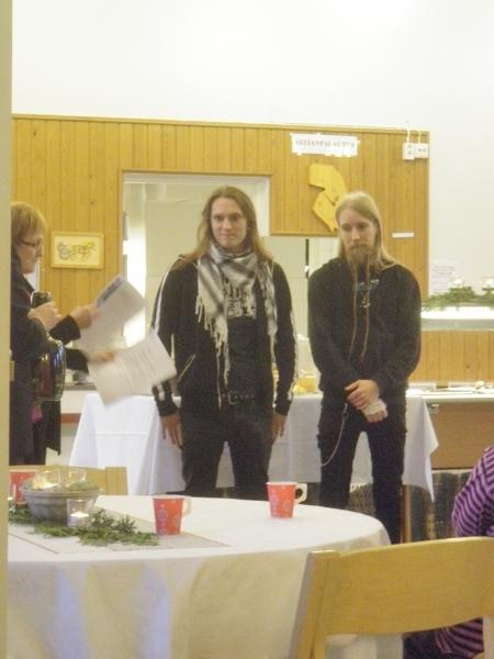 Kokouksen jälkeen Hämeen liiton vuoden 2009 kulttuuritunnustuspalkinnon sai Turisas yhtye ja sen keulahahmo ja toinen perustajajäsen Mathias Nygård.