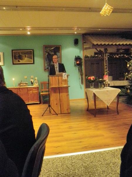 Juhlapuheen tänä vuonna piti Hyvinkään kaupunginhallituksen puheenjohtaja ja Suomen Yrittäjien hallituksen jäsen Antti Rantalainen.