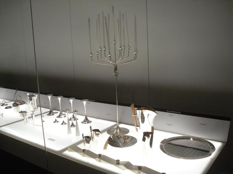 Kultakeskuksen upeat hopeat olivat hienossa seurassa tanskalaisten ja ruotsalaisten linnojen hopeiden kanssa.