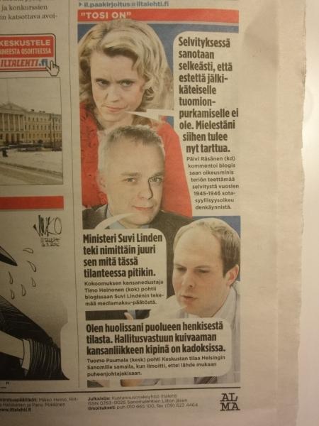 Iltalehti tänään 16.3.2010.