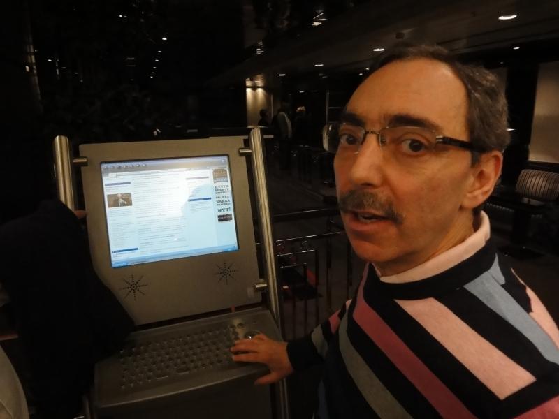 Ben ensimmäisen kerran netissä.