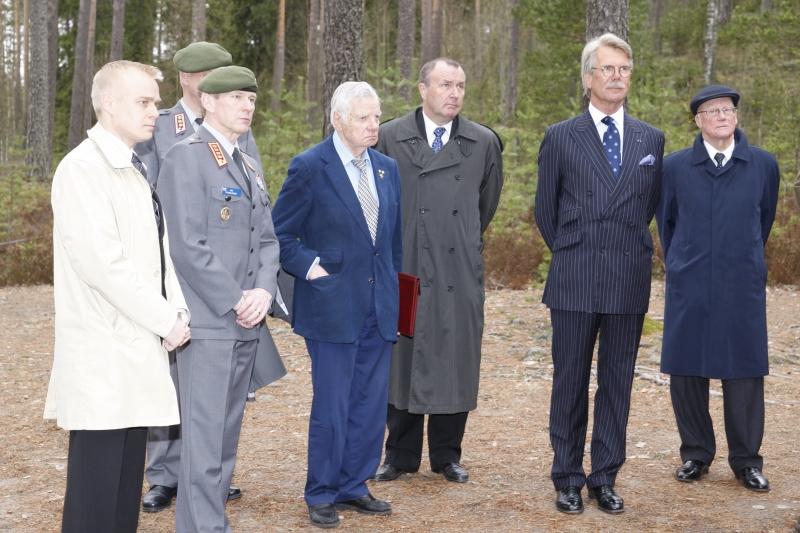 Marsalkka Mannerheimin Metsästysmajan perinteinen Kevät Lounas 10.5.2010 Lopella. Kuva: Kare Asp.