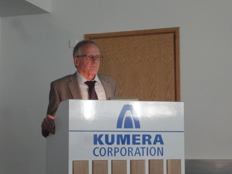 Tänään Riihimäellä puhunut dosentti Jorma Kallenautio käsitteli puheessaan EKA:n tapahtumia 80-luvulta tämän päivän muutoksiin ja uudistuksiin.