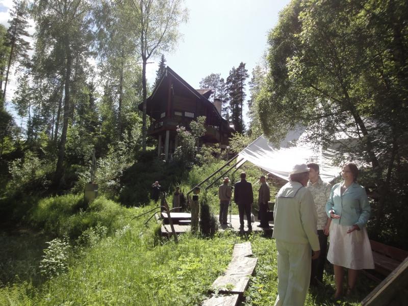 Villa Vesperin 25. Suvi-näyttelyn avajaiset. Kuvat kertovat parhaiten...