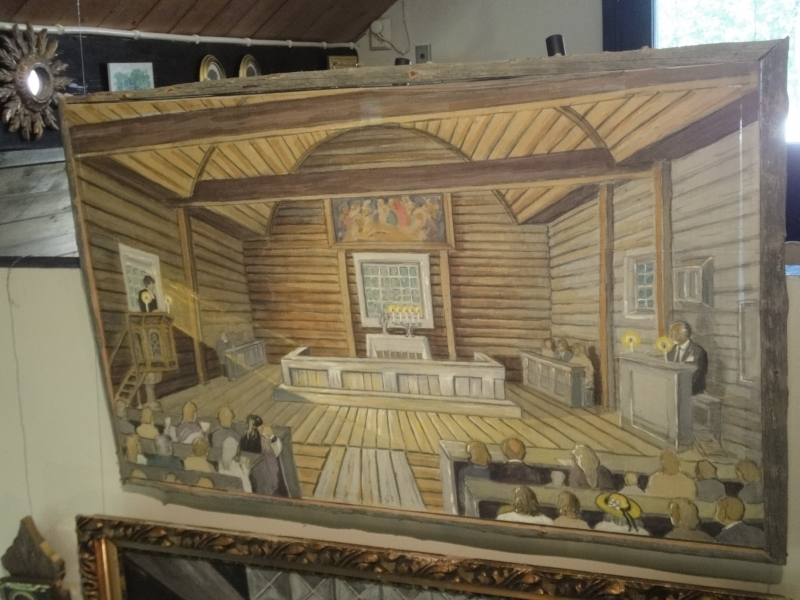Lopen Vanhakirkko Santa Pirjo, Pyhän Birgitan kirkko.