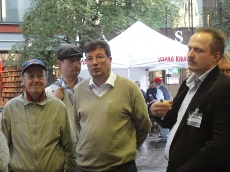 Arto Satonen ja Dimitri Tarzalainen.