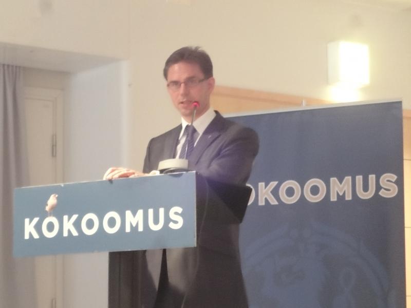 Jyrki Katainen kertoo hallitusneuvotteluista ja linjaa meille tulevaa. Esitys oli hallitukseen lähtö ja sen myös teimme.