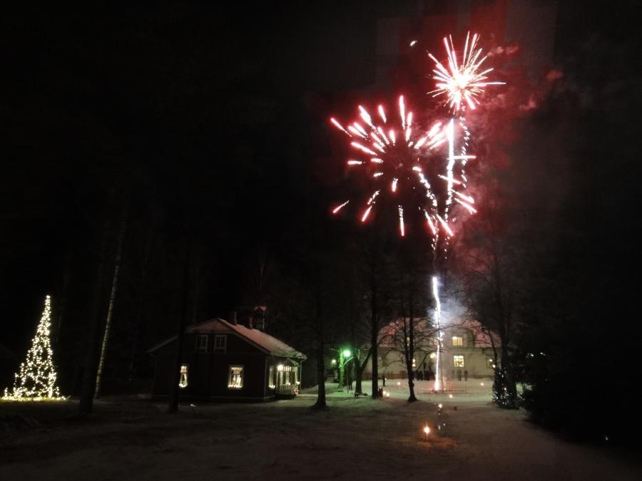 http://www.timoheinonen.fi: 2011-2012 Uudenvuoden aatto Leppäniemessä.