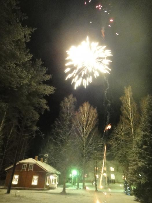 2011-2012 Uudenvuoden aatto Leppäniemessä.