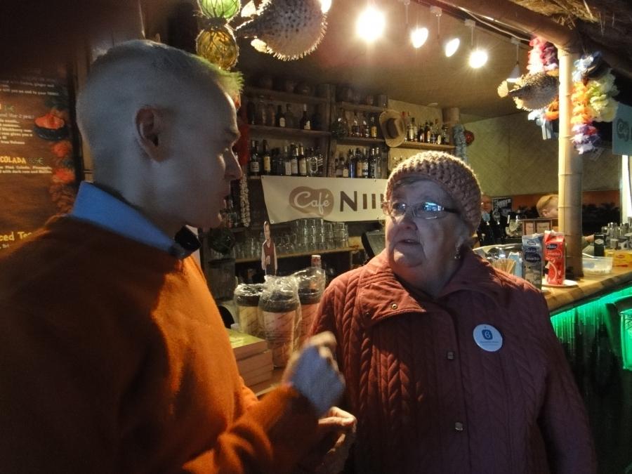 Tässä hieman tunnelmia Lahden Niinistö Cafesta. Päivän aikana lähes 500 kahvikuppia ja voi siis todeta, että aikamoinen määrä siis myös hyviä keskusteluja.