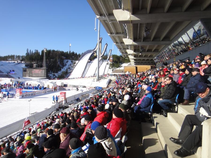 Salpausselän kisoissa 3.3.2012.