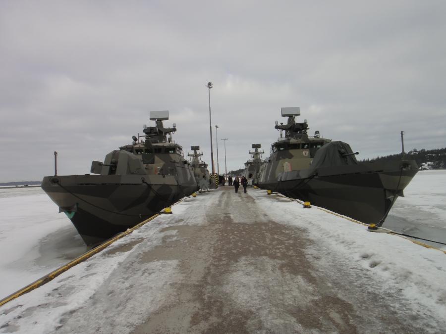 Tänään tutustumassa aamu- ja aamupäivä Upinniemeen eli merivoimat ja sukeltajat. Huikea päivä.