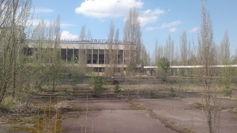 49 000 asukkaan Pripjat on nyt kuollut kaupunki. Väki evakuoitiin kaupungista 1986 Tsernobylin räjähdyksen jälkeen. http://fi.wikipedia.org/wiki/Pripjat