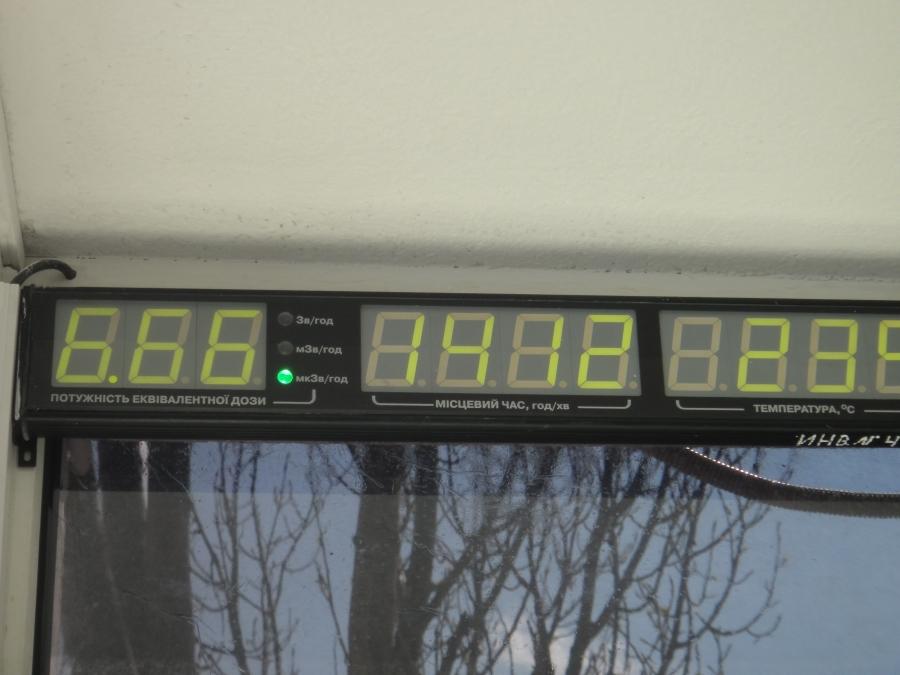 Ja huikeat säteilyarvot olivat nytkin siis 26 vuotta tuhon jälkeen...