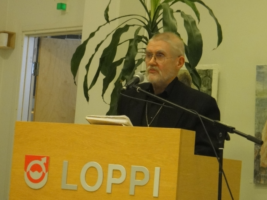 Ja puheenvuorot pitivät Antti Seppä....