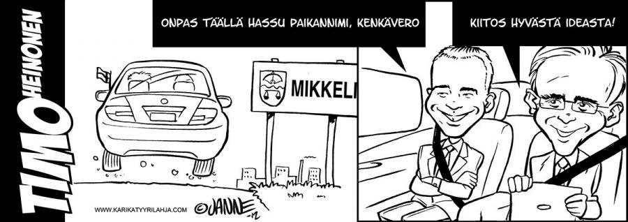 Janne Markkasen kynästä taas tulee....