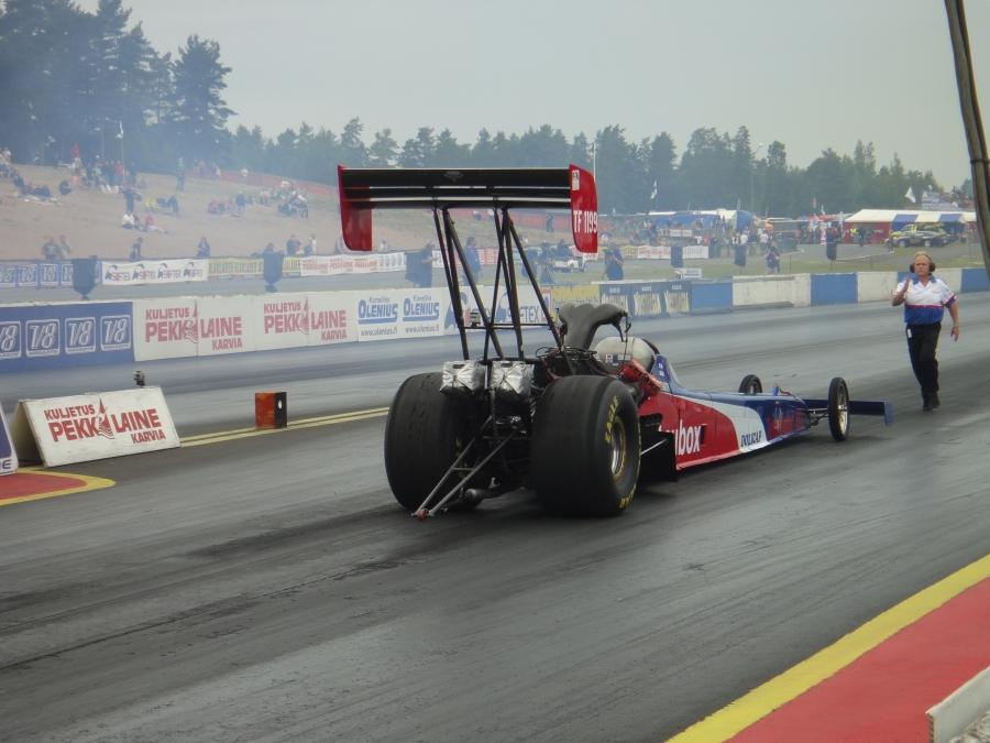 Nitro Nationals European Championship - Kiihdytysautojen Euroopanmestaruuskilpailut Alastarolla 8.7.2012.