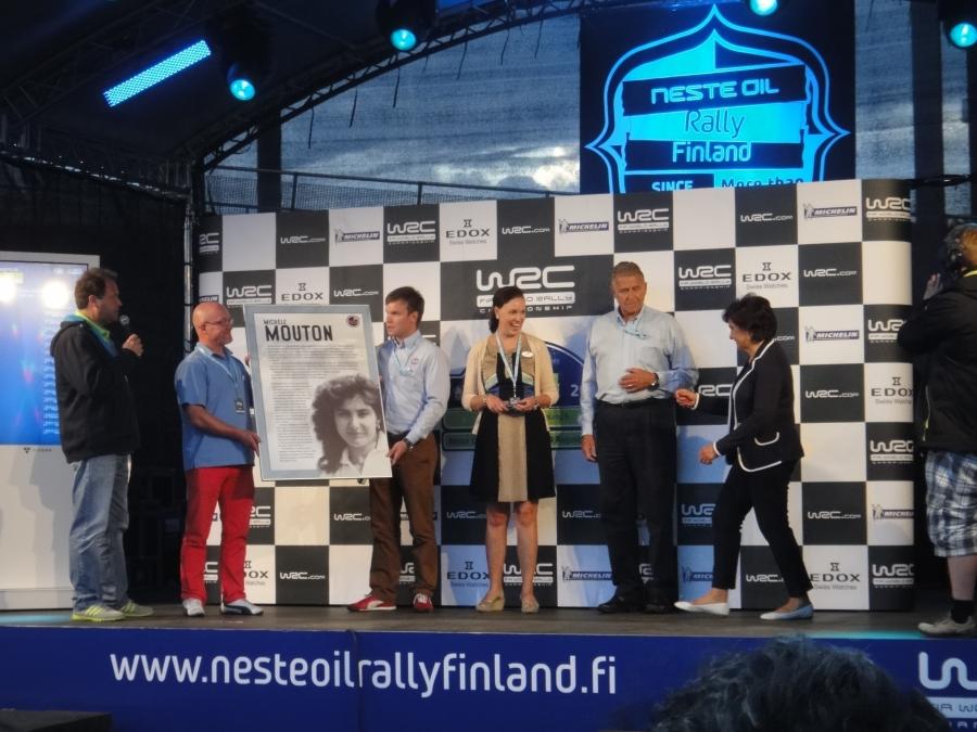 Ja Rallyn Hall of Fame sai tänään myös kaksi uutta jäsentä kun Michele Mouton ja Carlos Sainz kutsuttiin sora- ja asfalttiteiden tähtien galleriaan.