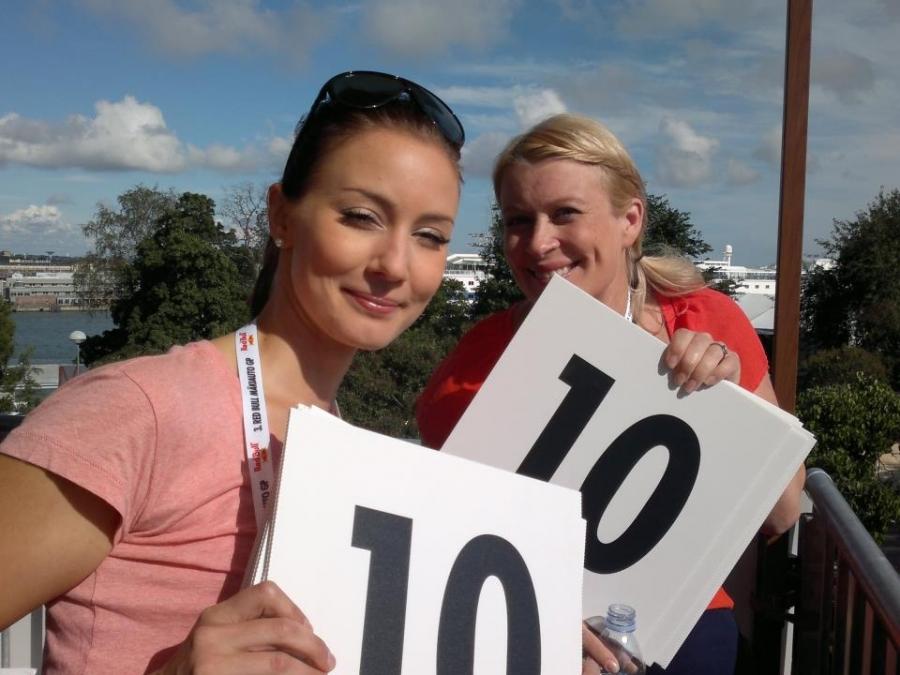 Ja tuomareina myös Noora Hautakangas ja Kirsi Alm-Siira.