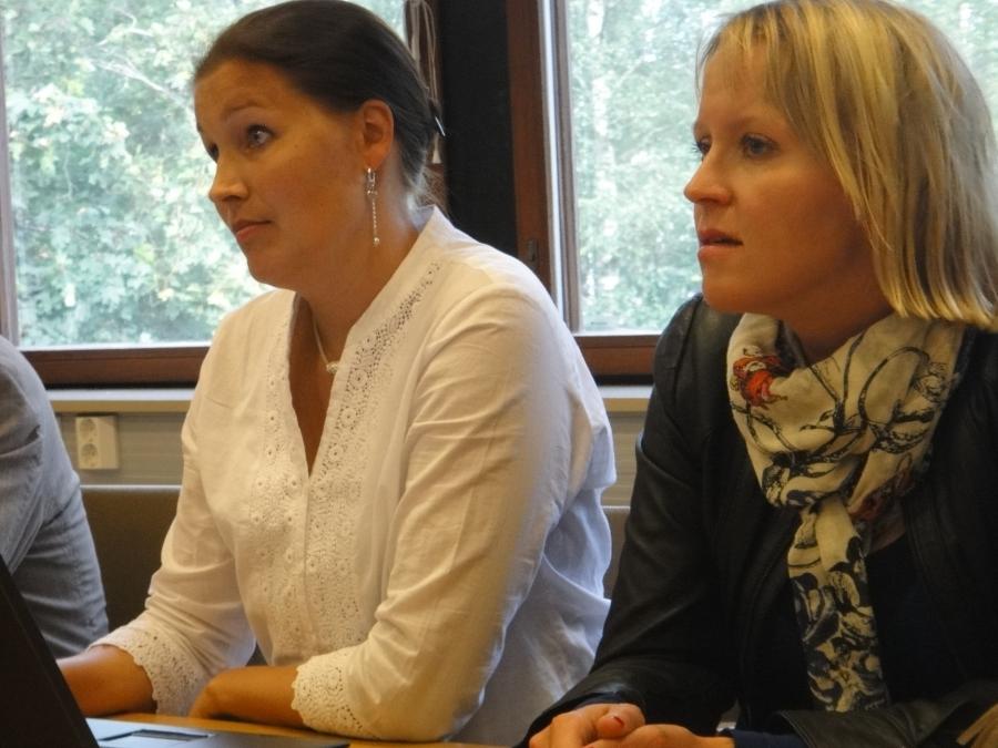 Ja sitten Saija Grönholm ja Eeva Pyhälammi.