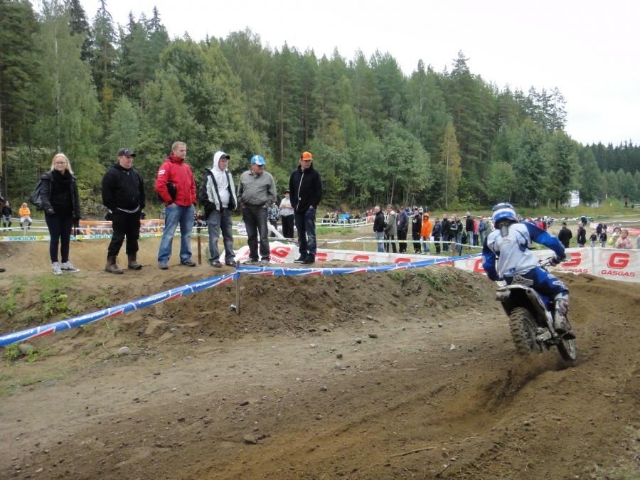 Enduron MM-viikonloppu Heinolassa toinen kilpailupäivä 2.9.2012.