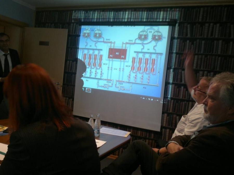 Keskustelua Leningradin ydinvoimalan johdon kanssa RBMK-voimaloiden jatkoajoista...