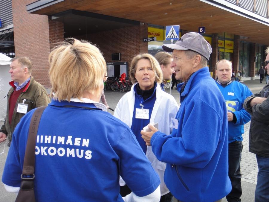 Riitta Takala on tehnyt hyvää työtä Kokoomuksen Riihimäen vaalipäällikkönä. Hyvä lista jo kasassa ja uusia ehdokkaita vielä tulossa.