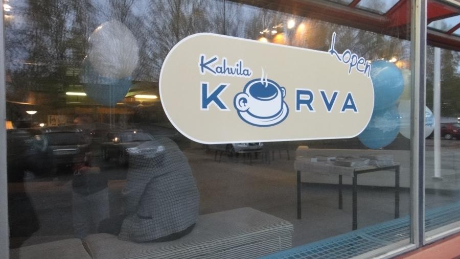 Lopen Kahvila Korvan avajaiset 10.10.2012.