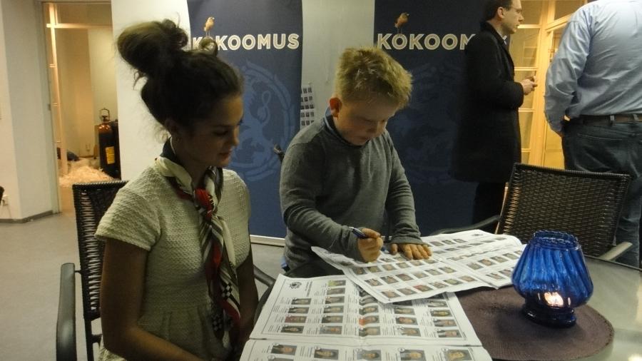 Ja Derya hieman Riihimäen vara-vaalipäällikön kanssa hommissa :)