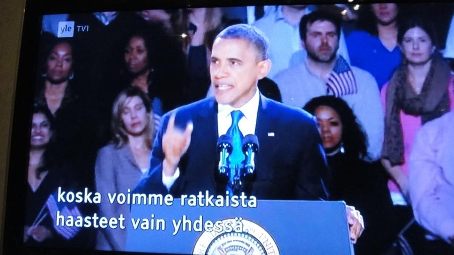 Joku jo kysyi, että eikö Heinonen yhtään USA:n vaaleja kommentoi. No myönnän, että synnytyssalissa hieman seurasin mitä nyt ehdin, mutta en isyysvapaalla kommentoi :)