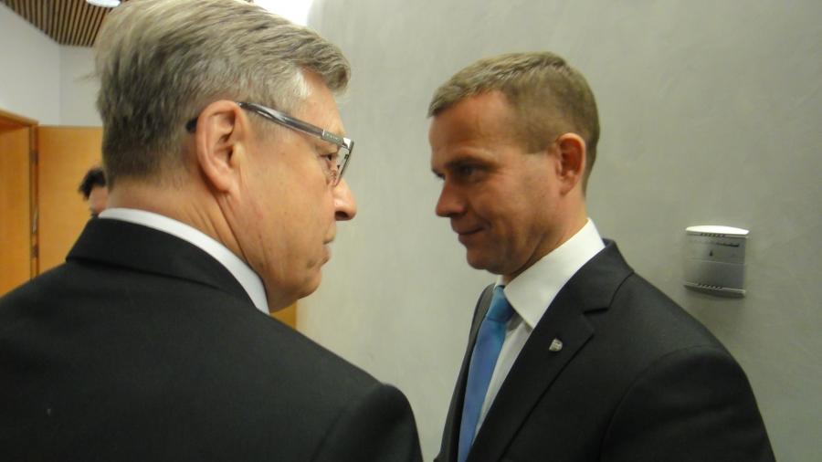 Hyvä ystäväni ja Takarivin Taavimme Petteri Orpo valittiin tänään yksimielisesti eduskuntaryhmämme johtoon. Erinomainen valinta! Onnea Petteri.