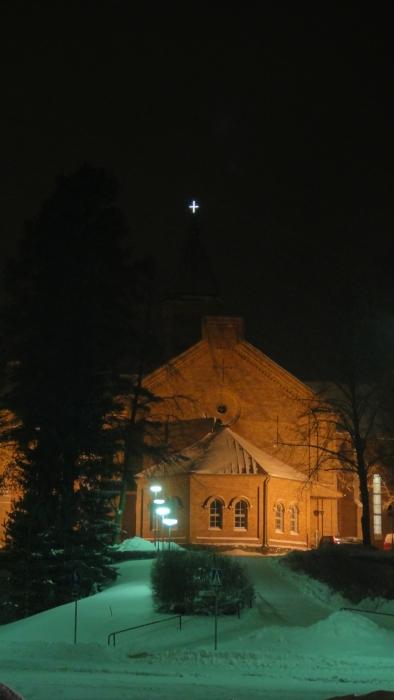Ja tänään illalla Lopen kauniissa kirkossa kaikuivat ne kauneimmat joululaulut...