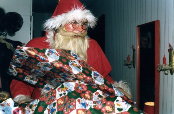 Lapsuuden joulumuistoja Viertolasta. Olisikohan vuosi 1977?