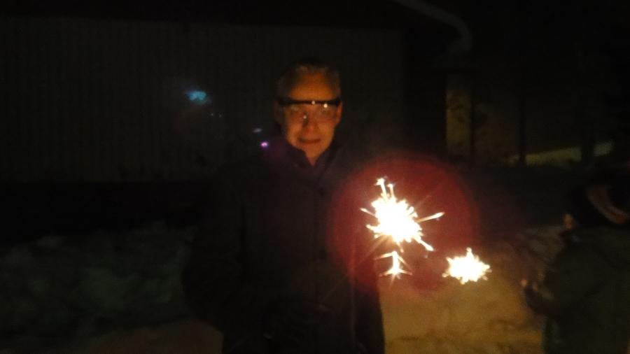 Ja hyvää Uutta Vuotta vielä teille kaikille!