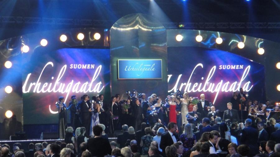 Ja tässä kaikki palkitut eiliseltä illalta. Eli upea joukko Uno-pokaaleja suomalaisten urheilijoiden käsissä. Onnea kaikille.