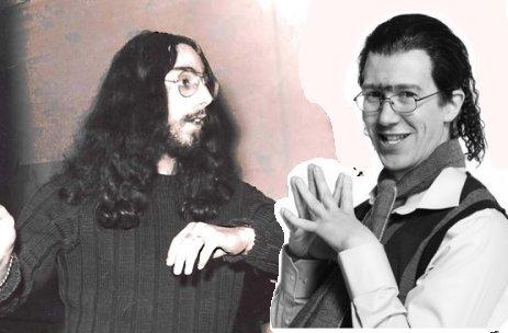 Hehän ovat kuin kaksi marjaa... Ben Zyskowicz nuorena ja Putouksen Karim Z. Yskowicz. Tänään taitaa miehet tavata.