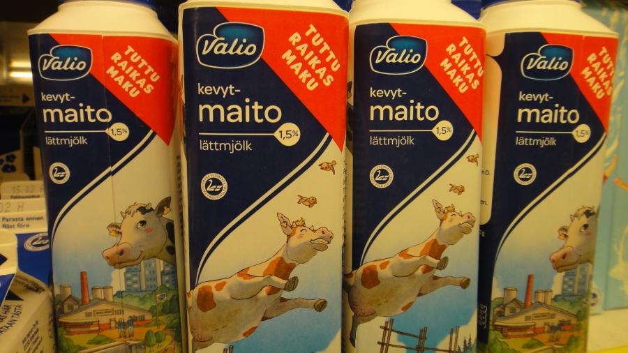 Hyvää Suomesta! Valion maitoa!