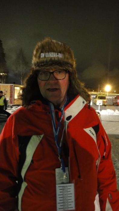 Ja minun tapaan ahkeria Mikkelin matkaajia aina SM-Vaakunarallin aikaan on Frankin Risto. Kummankin piti aikanaan vaan tulla kerran auttamaan ja nyt se kerta on joka kerta :)