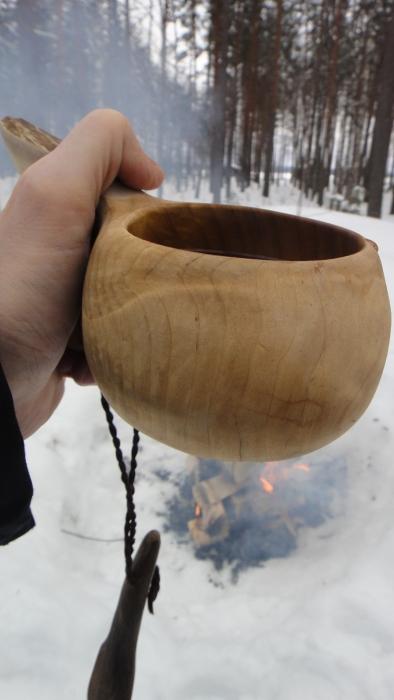 Ja kahvitkin tuli nautittua metsässä. Talvea parhaimmillaan.