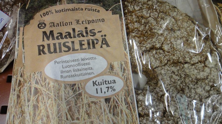 Huomenna se alkaa! Kaksi viikkoa vain suomalaista ruokaa -kampanjani. Mukana jo kohta 2000 suomalaisen hyvän ruuan ystävää. Valmistautuessa ehkä vaikeimmaksi on osoittautumassa suomalaisen (siis jauhoiltaankin) suomalaisen leivä löytäminen. Tässä kaksi vaihtoehtoa eli Aallon Leipomolta ja Samsaralta.