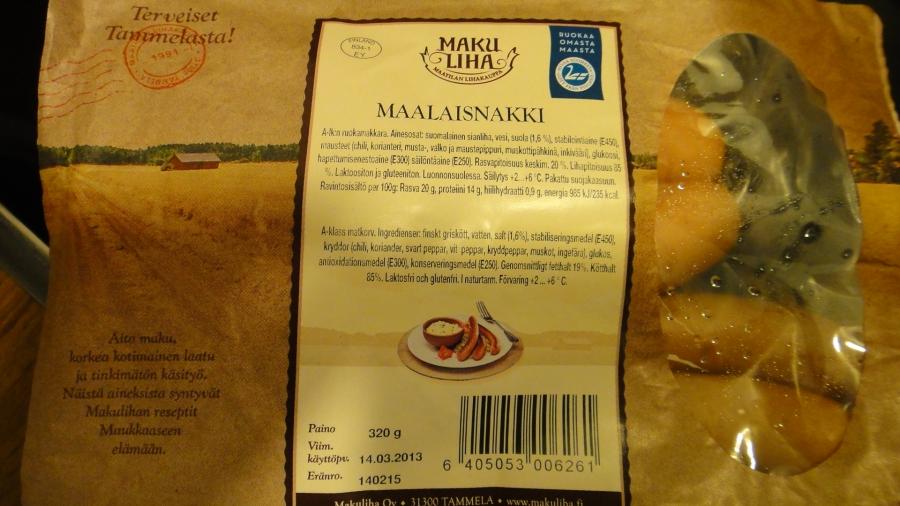 Tammelan Makulihalta löytyy runsas ja maukas valikoina 100% suomalaista ruokaa. Suosittelen iltapalaksi, aamupalaksi ja päiväruuaksikin. Kurkatkaapa: Makuliha.