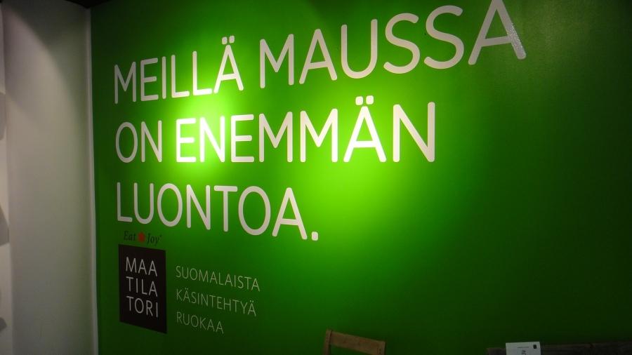 Tänään kokeilussa jo aiemmiltakin ajoilta tuttu erinomainen Eat and Joy. Mutta tänään siis minun ensimmäinen lounas kyseisessä paikassa keskellä Helsingin sydäntä Kampissa. Suosittelen!