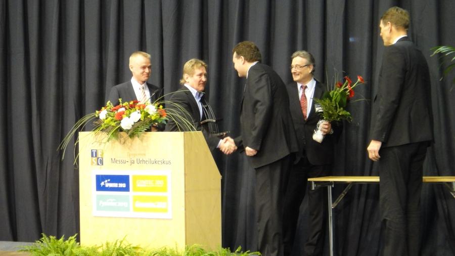 Ja palkinto myönnettiin tällä kertaa Espoon Tapiolan Hongan Honkahallille.
