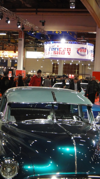 Hieman tunnelmakuvia 36. American Car Showsta Helsingin Messukeskuksesta...