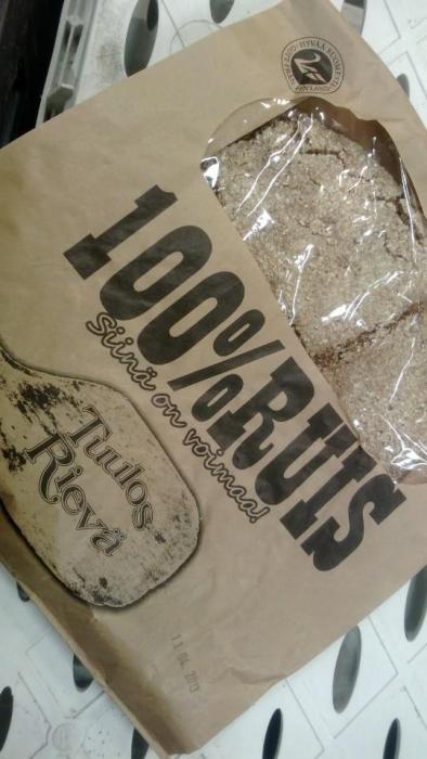 Niin ja Lammilta saa myös sitä aitoa ja 100% suomalaisista jauhoista tehtyä Tuulos Rievän ruisleipää. Erinomaista hämäläistä herkkua.