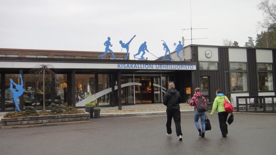 Lohjalla Kisakalliossa Lopen kunnan valtuuston strategiaseminaarissa.