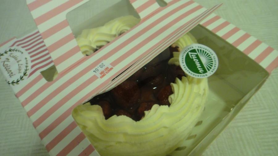 Ja kakun paketissa Luomu-merkki.
