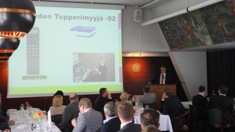 Juha Sipilä piti mielenkiintoisen puheenvuoron omasta menestystarinastaan ja siitä miten sitä voi hyödyntää myös politiikassa.