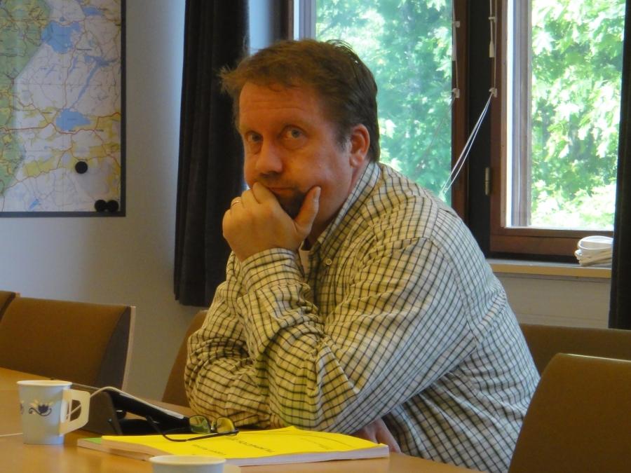 ... ja Jarmo Laukkanen, joka johtaa myös Lopen Yrittäjiä.
