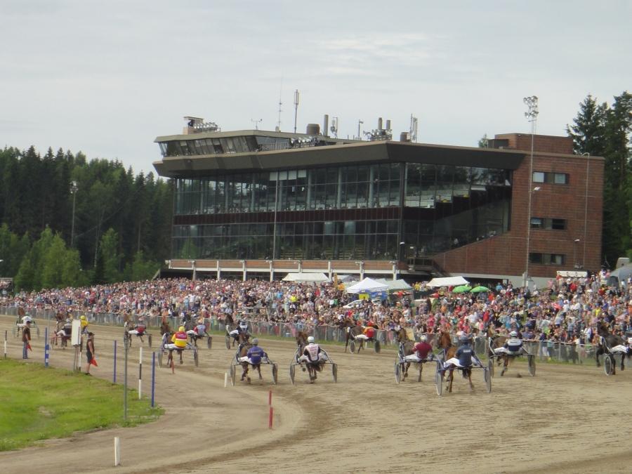 Lopen Hurja-Ero Suur-Hollola Ajoissa 30.6.2013 ja moni muukin upea hevonen. Yli 8000 katsojaa ja mahtava tunnelma.